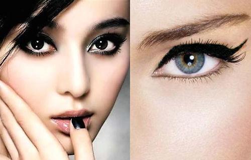 Càng trang điểm mắt càng nhỏ do mắc phải các sai lầm dưới đây